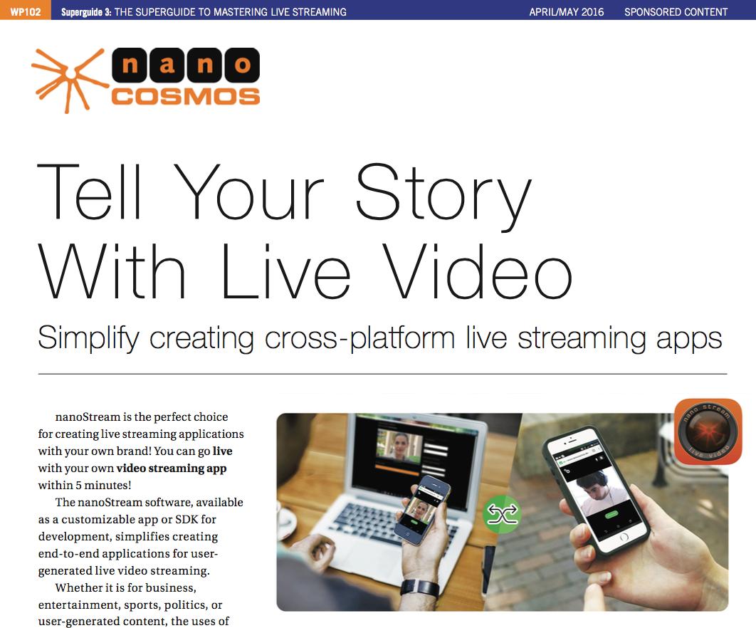 quick guide setup your live stream