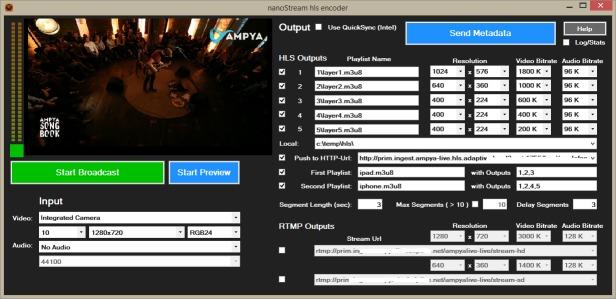 nanocosmos - nanoStream Live Video Encoding Streaming Playback SDK
